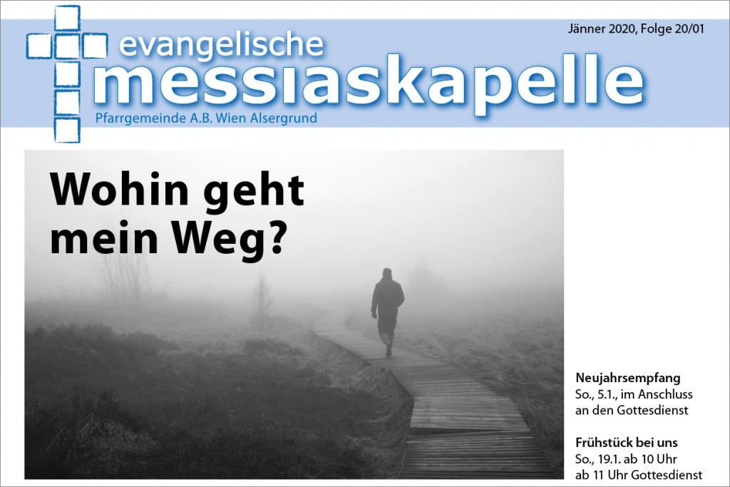 Titelblatt Gemeindezeitung 2020 01